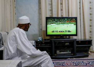 President Muhammadu Buhari, Super Eagles, AFCON