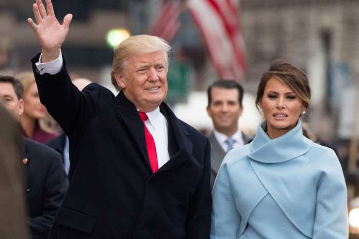 Melania Trump and husband, Donald Trump on January 21, 2017 at the inauguration of the 45th president of the United States. | Getty Images