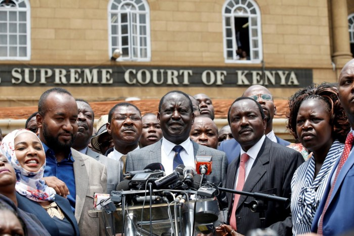 kenya supreme court Raila Odinga