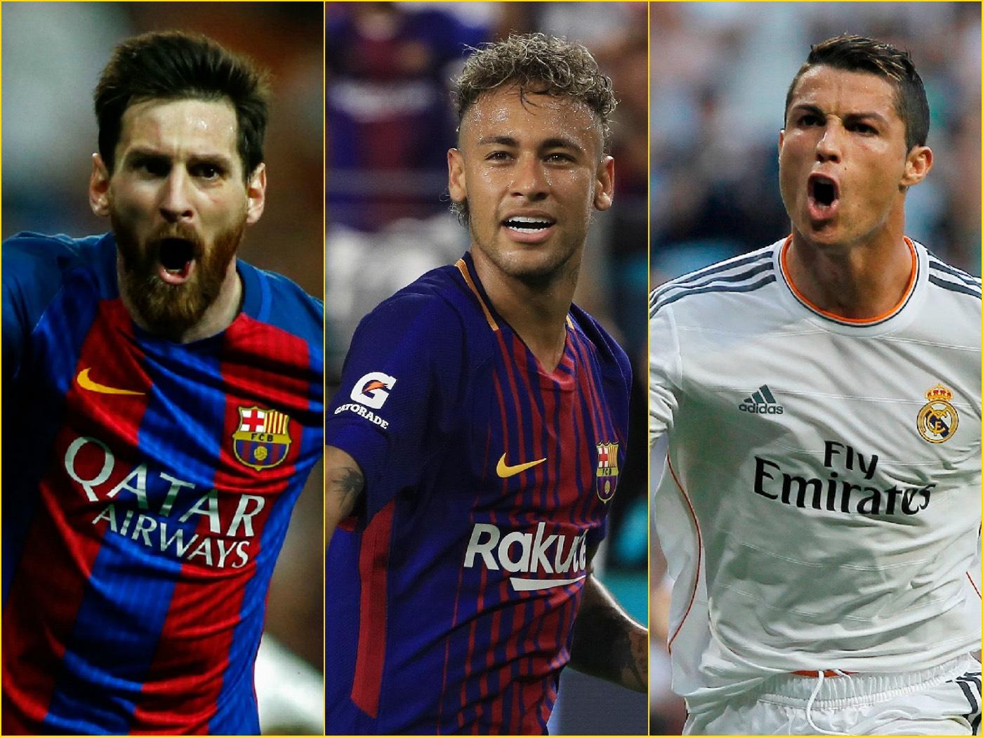 Ronaldo, Messi, Neymar Nominated For FiFA's Top Award ...