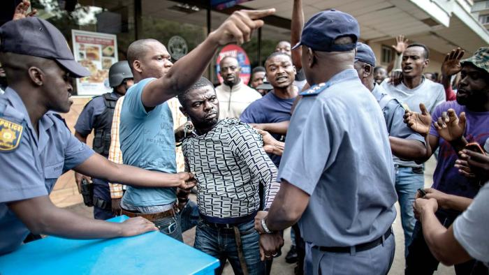 Image result for Another Nigeria Killed by South African Police
