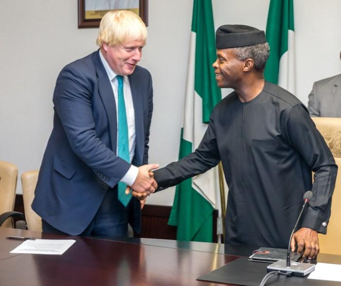 Nigeria Military Osinbajo Boris