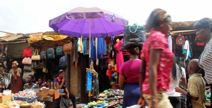 Traders at Nkpo Market in Onitsha, Anambra State | Juju Films