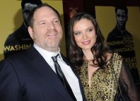 Harvey Weinstein and new wife Georgina Chapman