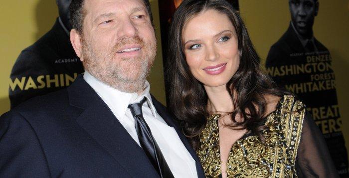Harvey Weinstein and new wife Georgina Chapman