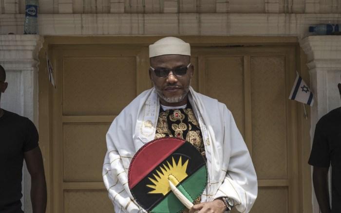 Nnamdi Kanu, Nigeria, Army, America