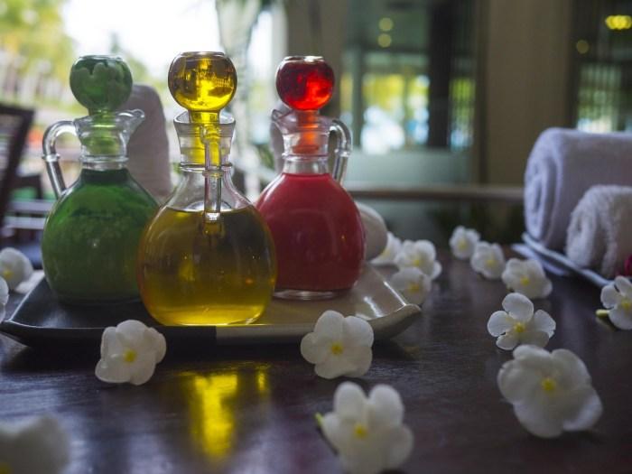 essential oils flower