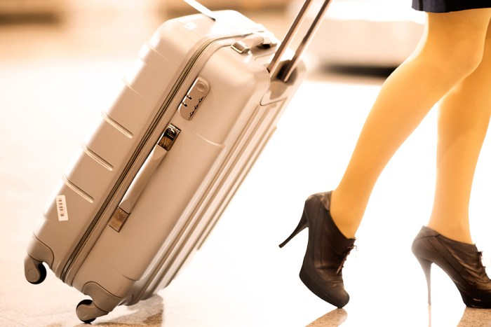 heavy luggage travel luggage