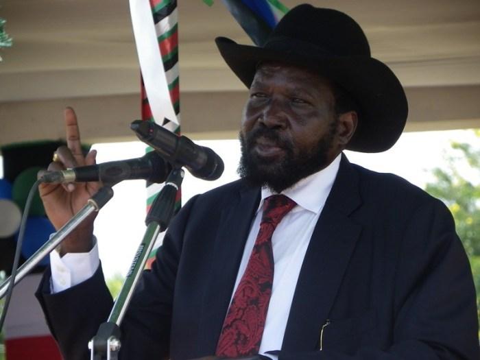 Salva Kiir Mayardit, the president of South Sudan Supreme Court
