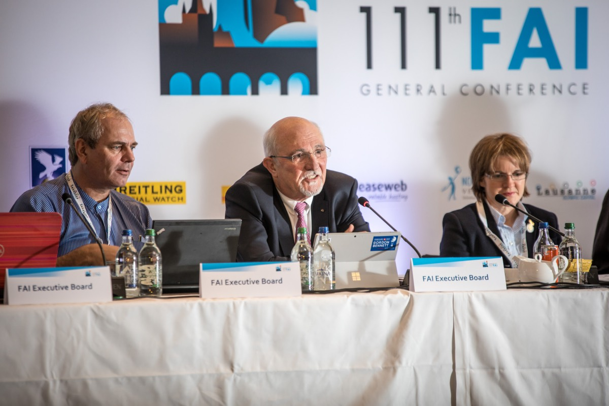 Max Polyakov Recognized As FAI Companion Of Honour - The Trent