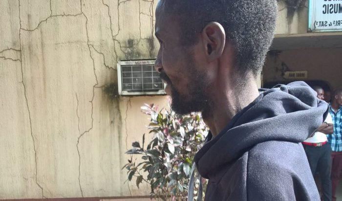 Libya returnee Alex Otoide, from Edo state   NAN
