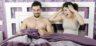 penis consider women couple bed naked man