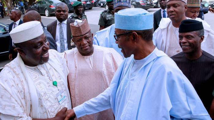 Muhammadu Buhari, APC Governors, Daura