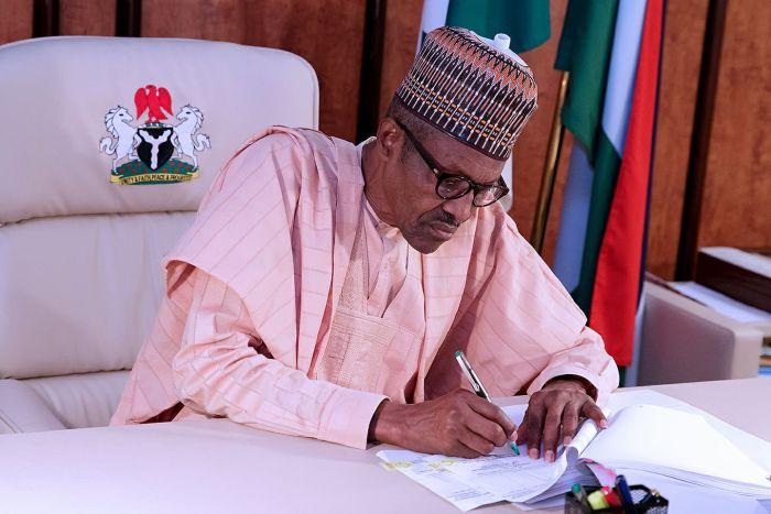 Muhammadu Buhari, Lawrence Ojabo, Ibukun Abimbola Odusote, Nkechi Ejele, Permanent Secretaries