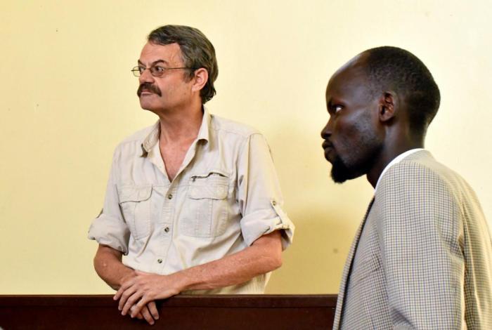 William John Endley , South African, South Sudan, Riek Machar, death , hanging,