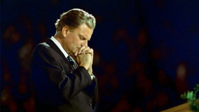 Obituary: An Iconic Civil Rights Champion And Evangelist, Billy Graham