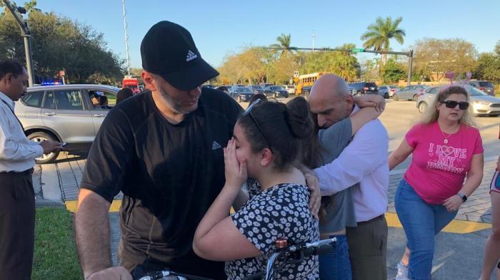 Donald Trump, Florida School Shooting, Deputy Sheriff