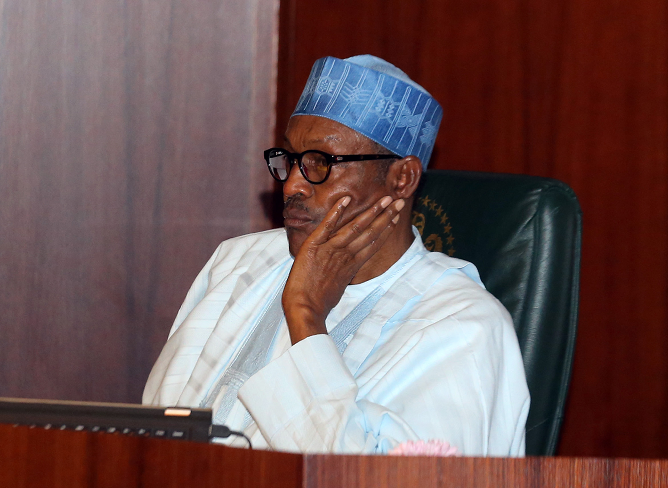 Image result for Buhari and NASS
