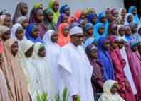 Buhari, Dapchi, Schoolgirls