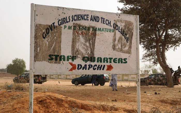 dapchi, Schoolgirls, Abduction