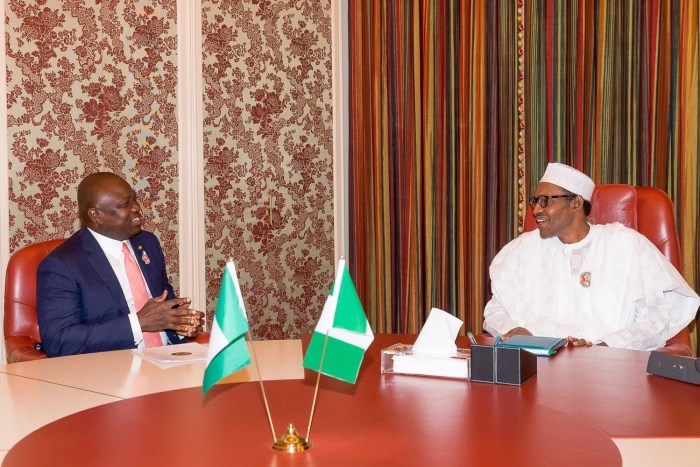 Buhari, Lagos, Ambode, Group