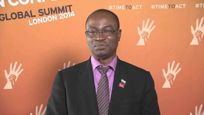 Samura Wilson Kamara, Sierra leone, Presidential, Candidate