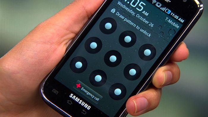 lockscreen android device