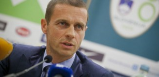 Aleksander Čeferin, president of UEFA AC Milan