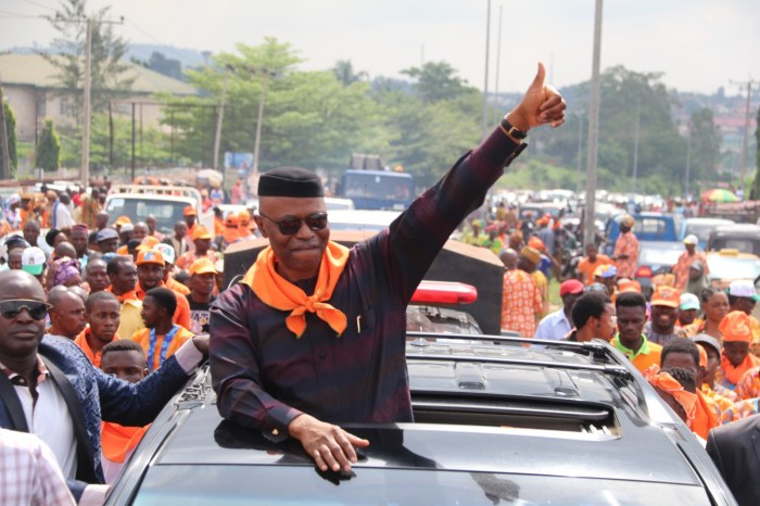 Dr. Olusegun Mimiko, immediate past governor of Ondo State returns to Labour Party on
