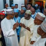 President Buhari receives in Solidarity Visit APC Senators in State House on 25th July 2018   State House Photo