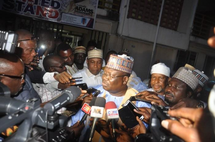 Ahmed Lawan, Muhammadu Buhari