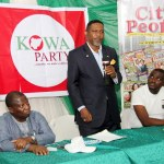Sina Fagbenro-Byron, a presidential aspirant on the platform of KOWA party, h
