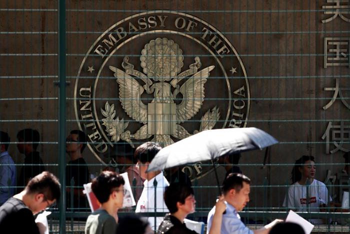 Embassy, Explosion, Beijing