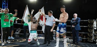 Larry 'The Natural' Ekundayo wins the European boxing championship  Reuters