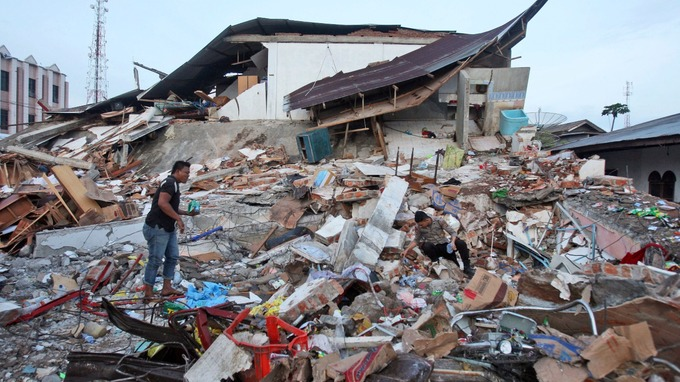Earthquake, Indonesia, Lombok