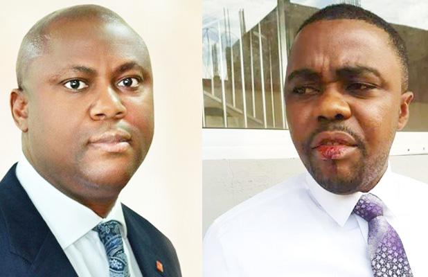 GT Bank Liberia managing director, Ayodeji Bejide, injured employee Edward Freeman by throwing a calculator at him, drawing blood from his lips. Gtbank