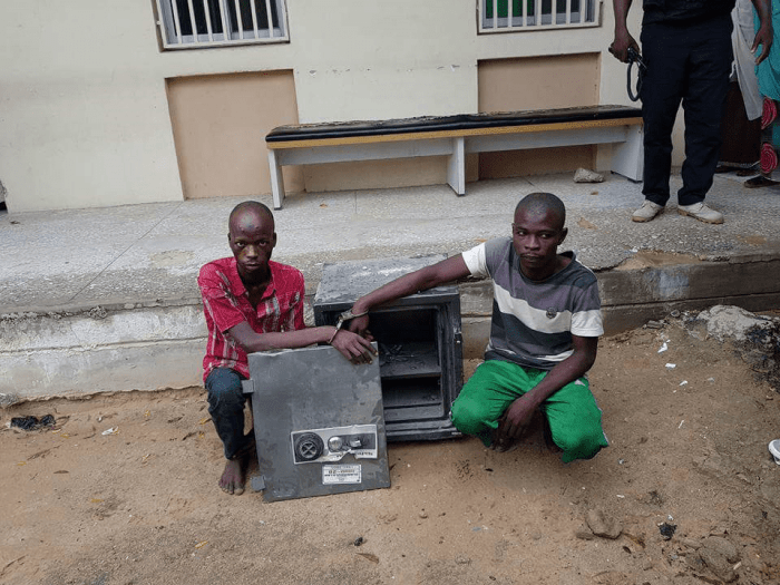 Borno: Security Guards For 'Robbing Hospital Of N5 Million' (PICTURED)