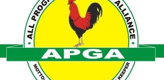 APGA, Victor Oye, Jerry Chukwueke, John W.T Gbor