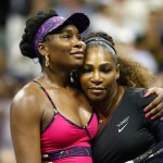 Even though Serena won 6-1, 6-2 there was still chance for a sisterly hug at the end of US Open in August 2018 | Getty