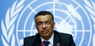 New World Health Organization (WHO) Chief Dr. Tedros Adhanom Ghebreyesus from Ethiopia. | WHO/Twitter/Reuters