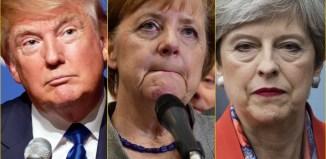 Trump Merkel May The Trent