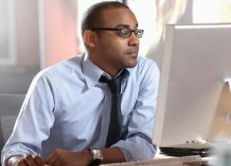 make money online businessman laptop man office