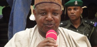 Governor Abubakar Atiku Bagudu of Kebbi State