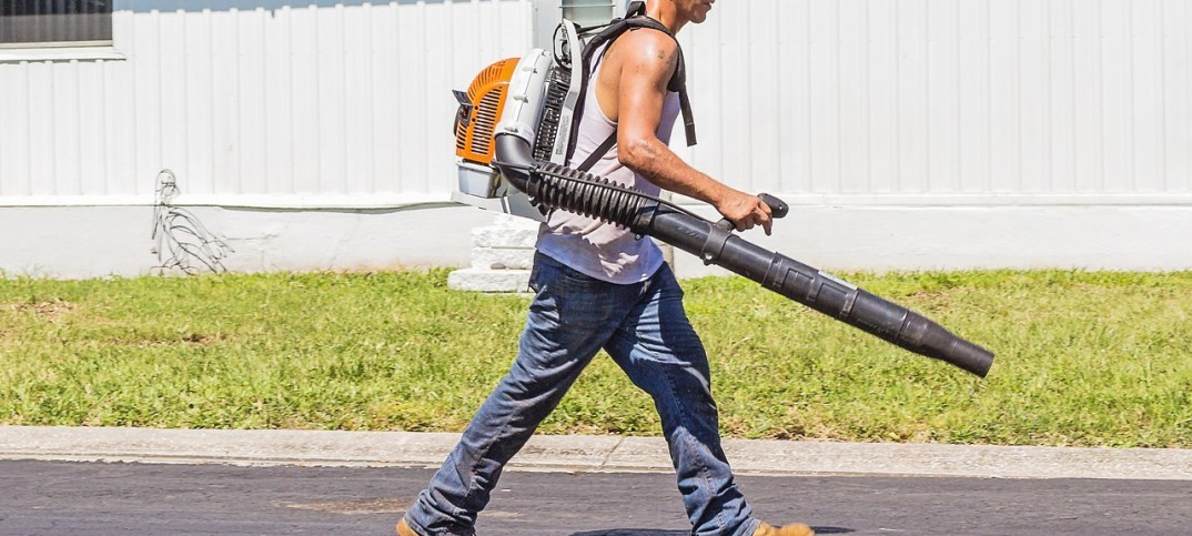 backback leaf blower