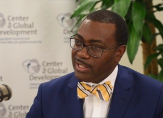 Akinwumi Adesina, president of the African Development Bank Group