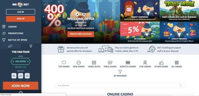 Online casino Mr. Bet