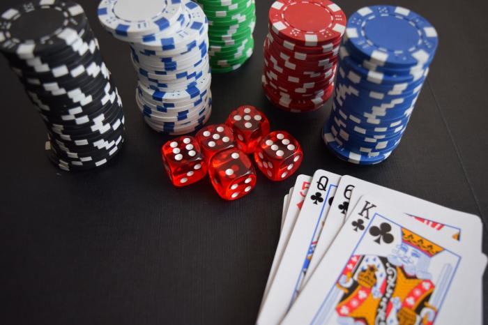 poker cards chips gambling casino