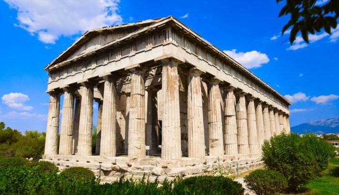 Temple Hephaestus Ancient, Agora