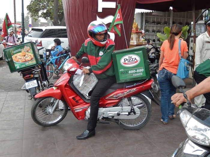 pizza delivery business