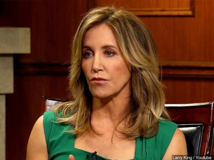 Hollywood actress, Felicity Huffman